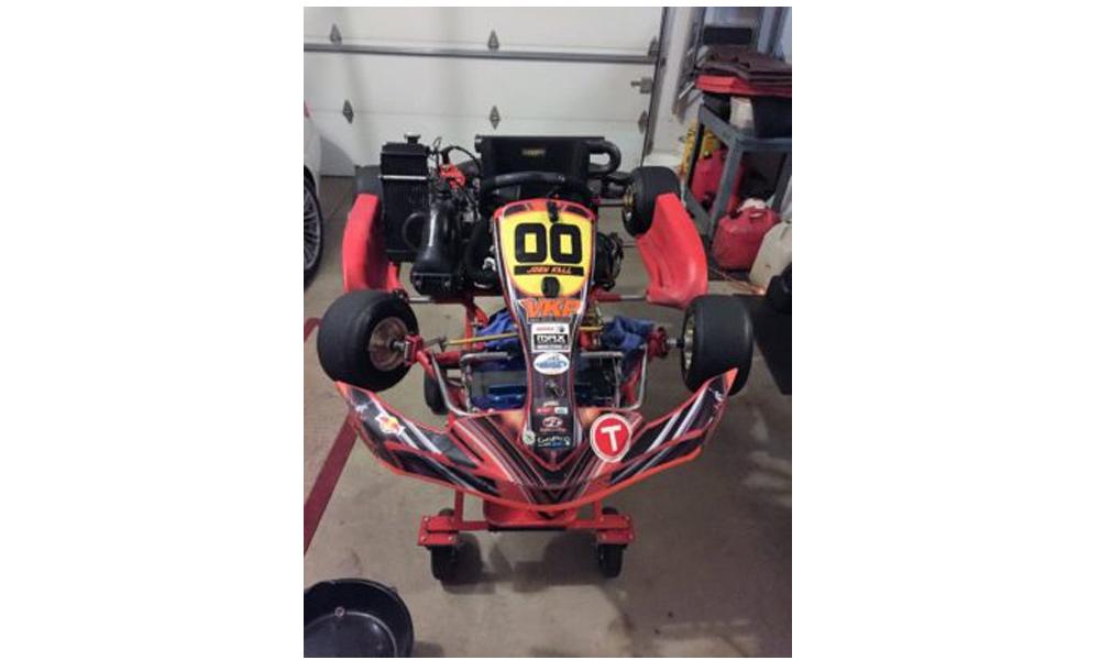 '13 Birel kart Cadet chassis, Rotax engine