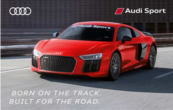 In Audi Will Call Autobahn Country Club Home To The R V Plus - Audi home