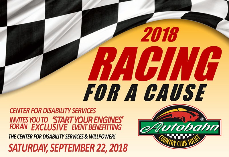 Racing for a Cause Event on Saturday September 22, 2018