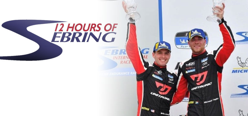 Autobahn's Own Britt Casey Jr. Back to the Podium at Sebring 12 Hour Weekend Race