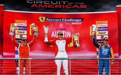 Dave Musial Takes 3rd Place in Ferrari Challenge North America Cicuit of the Americas