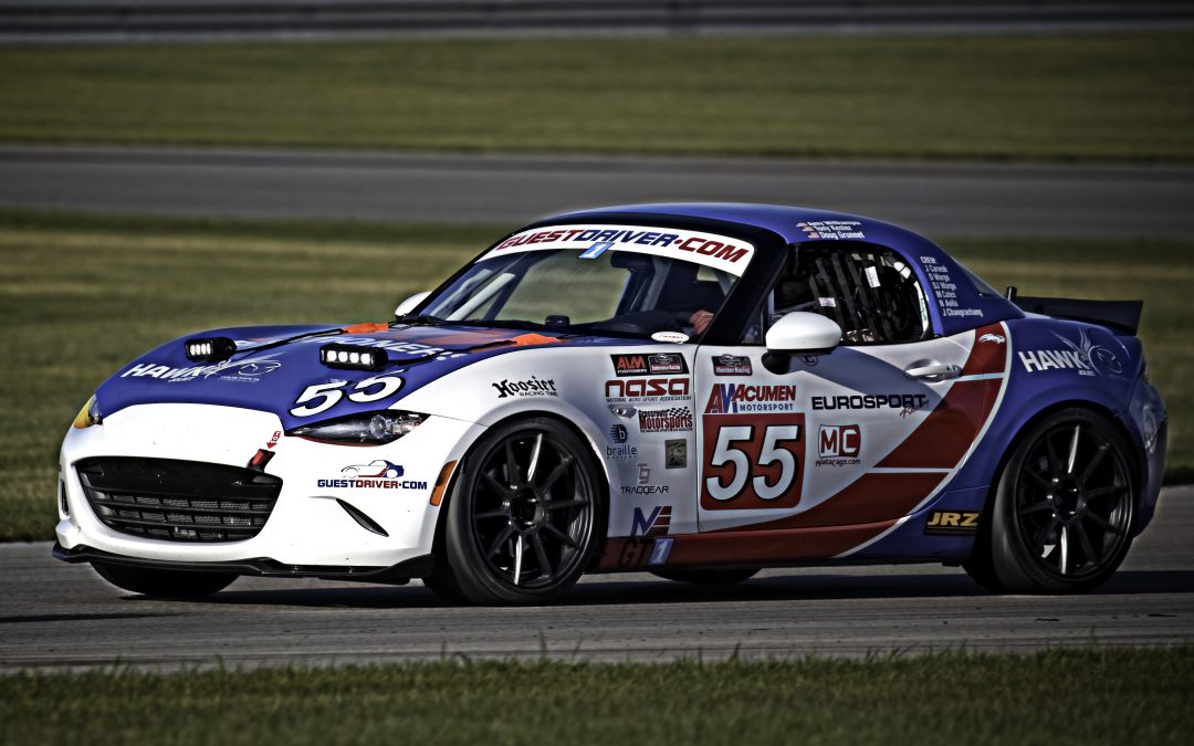 2016 MX-5 ND GT 2L MAZDA MIATA  BUILT BY EUROSPORT RACING
