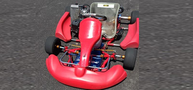 Berelli 2 stroke go kart