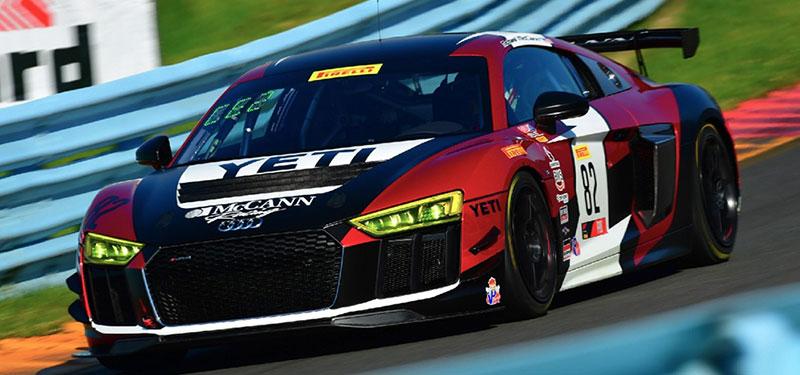 Britt Casey Jr/2020 Audi R8 LMS GT4 Program Announcement