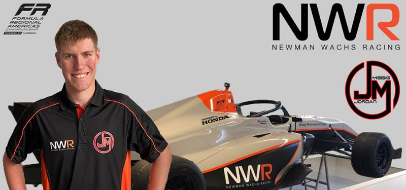 Jordan Missig Joins Newman Wachs Racing for the 2020 Season