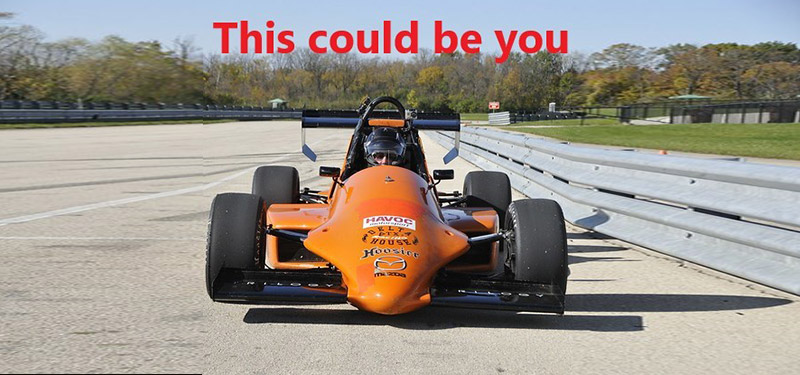 Arrive and Drive Formula Mazda Program