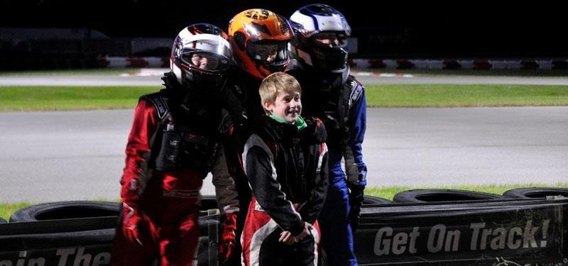 Karting Korner…Double Header…2nd Race Under the Lights!!!