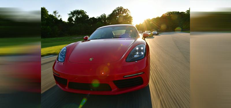 Porsche Hitting the Road