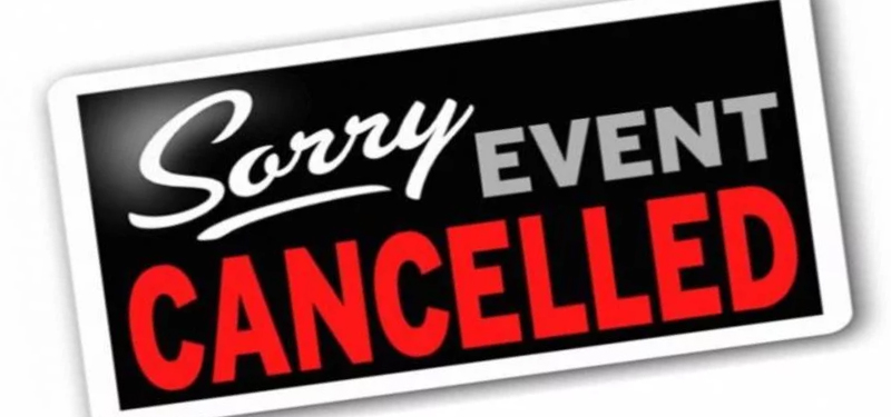 Year End Awards Party Cancelled