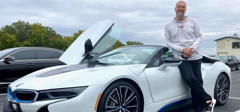 Our Last Winner of the BMW i8 Competition