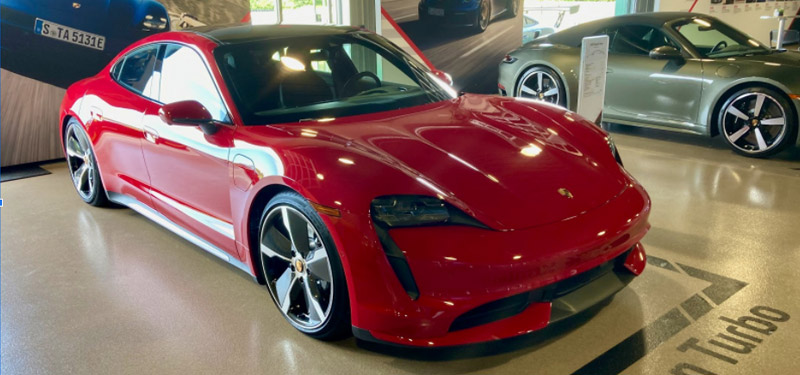 Porsche Comes Back with the Taycan!